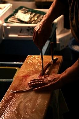 Preparing the Eels