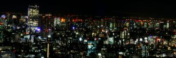View of Tokyo from the 42nd floor of the Metropolitan building