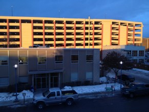January 7, 2013: Sunset in Anchorage