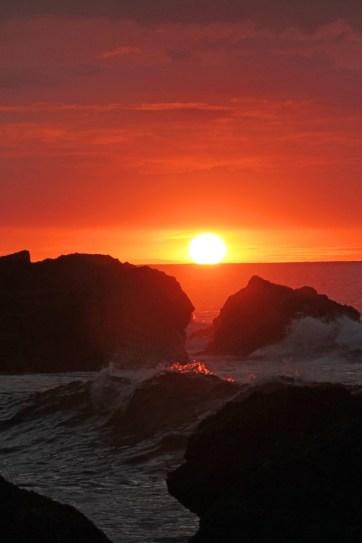 CR Costa Rica Sunset