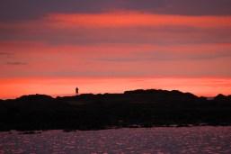 CR Man Watching Sunset