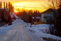 March 20, 2013: Sunset Homebound