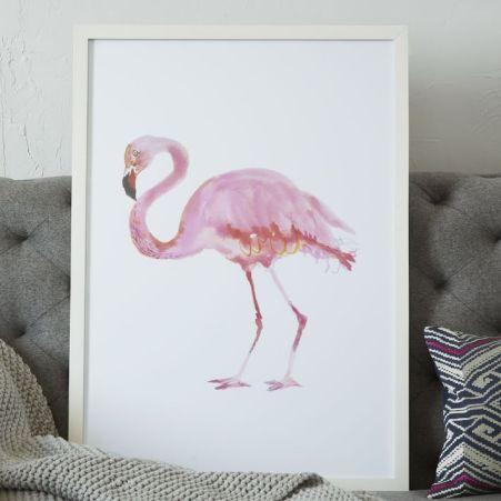 framed-bird-wall-art-flamingo-o