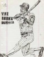 Ricky Henderson 8.5x11 / 1985