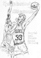Larry Bird 8.5x11 / 1986