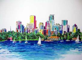 Minneapolis Skyline 36x24 / 2005