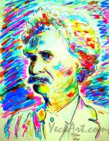 Mark Twain 11x14 / 2007