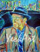 Woody Allen 14x18 / 2003
