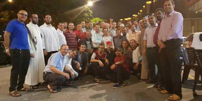 اليمنيون في ماليزيا يحتفلون