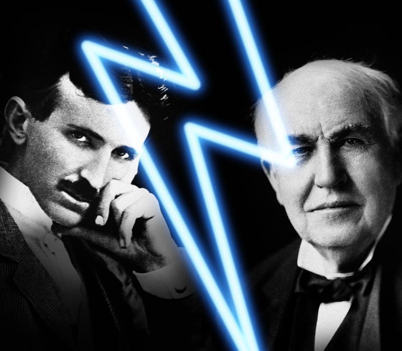 Tesla-Edison
