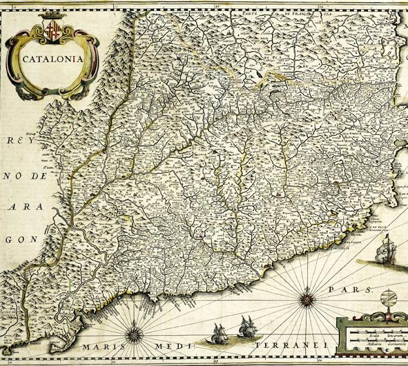 Katalonya haritası