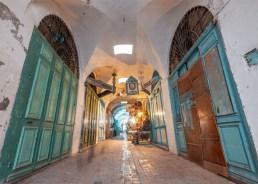 Başkent Tunus'ta Bir Çarşı