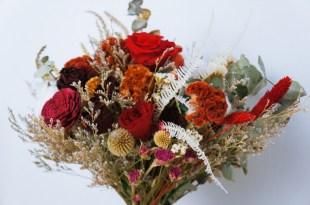 │Wedding│秋日濃濃愛意的乾燥捧花。Keyura Garden 瓔珞莊園手作花坊