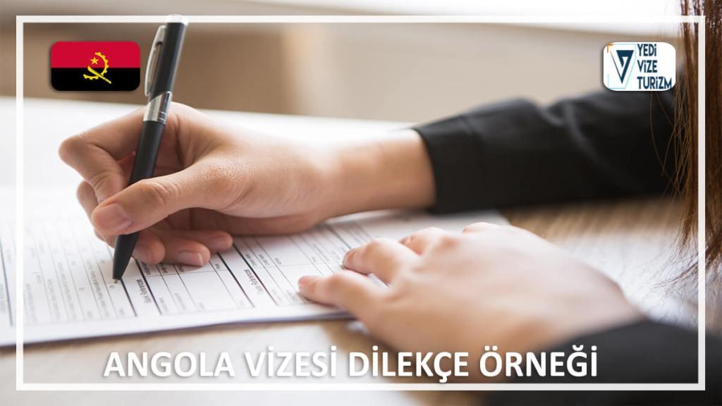 Vizesi Dilekçe Örneği Angola