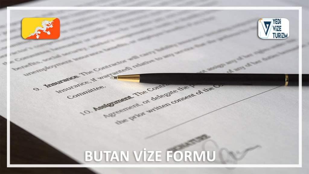 Vize Formu Butan