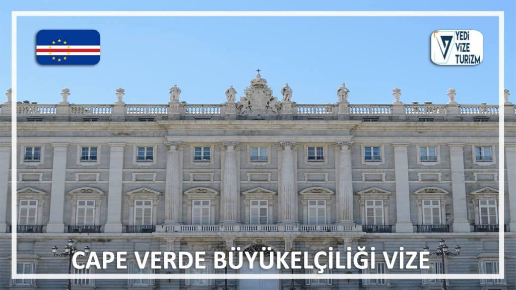 Büyükelçiliği Vize Cape Verde