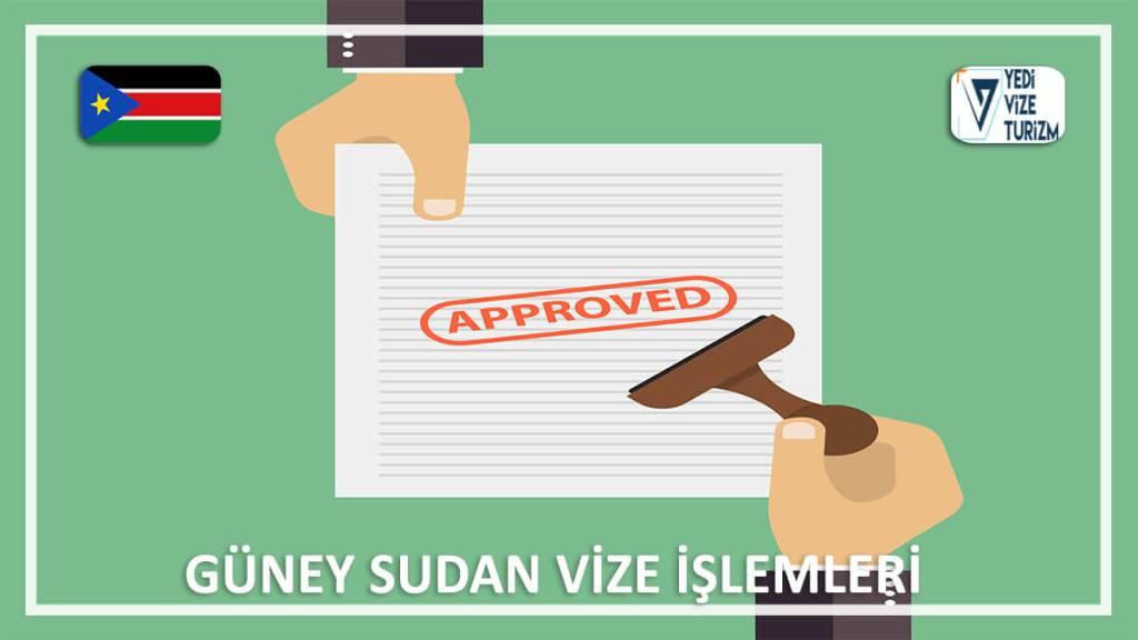 Vize İşlemleri Güney Sudan