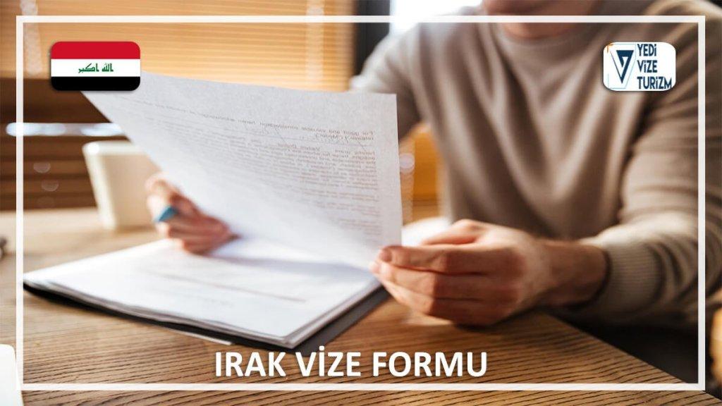 Vize Formu Irak