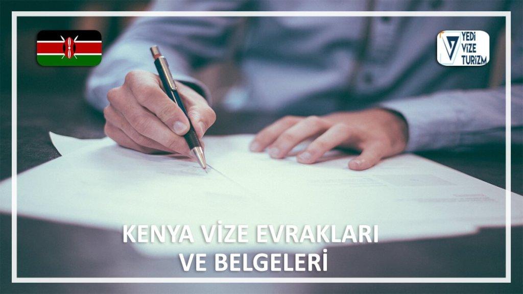 Vize Evrakları Ve Belgeleri Kenya