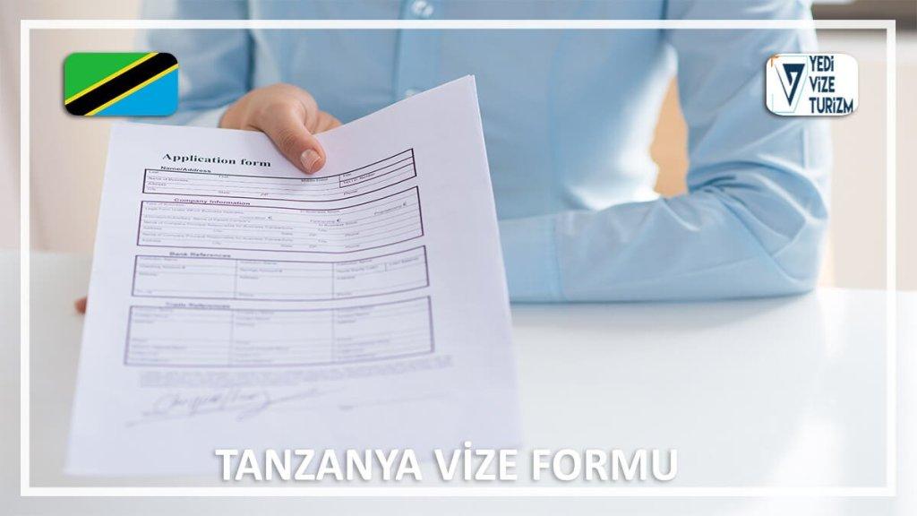 Vize Formu Tanzanya