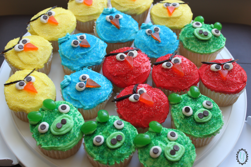 Angry Bird Cupcakes Yee Wittle Things