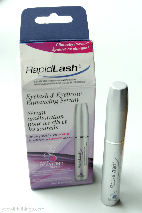 Healthier Lashes With Rapidlash Giveaway Yee Wittle Things
