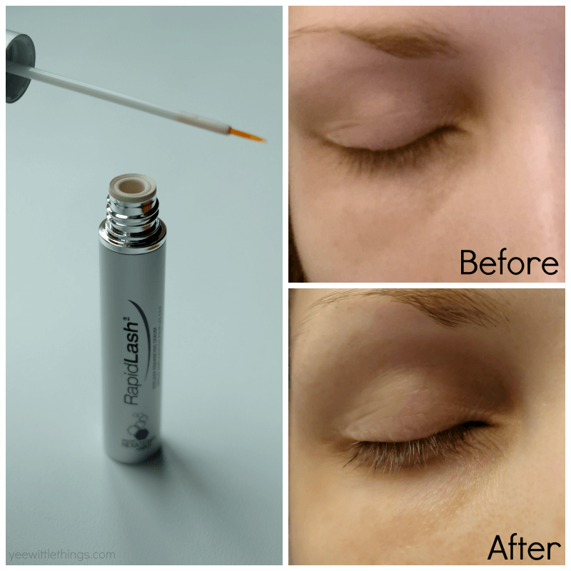 Rapidlash Review Fuller Lashes Yee Wittle Things