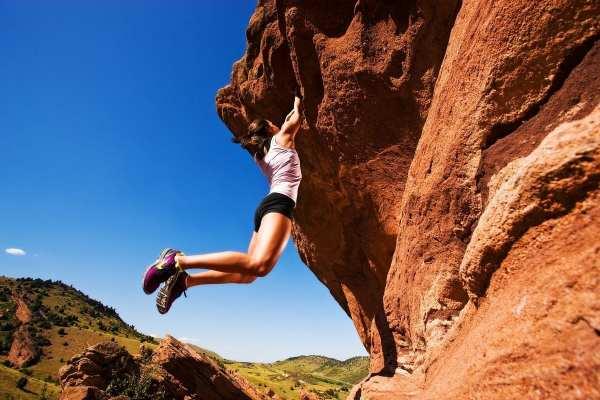 Red Mountain Rock Climbing Women