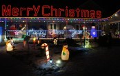 Leduc Country Lights Christmas House