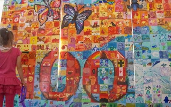 Grandin Centennial Mosaic Unveiled