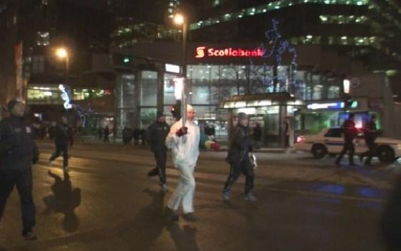 Olympic Torch Run Through Edmonton