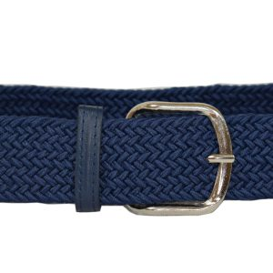 Navy Blue Canvas Belt