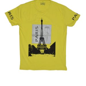 Yellow Paris T-Shirt