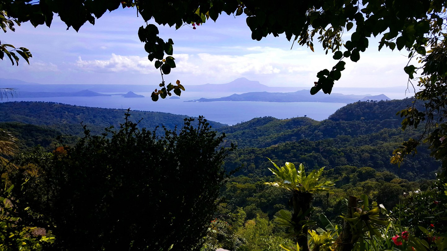 Overlooking Tagaytay Chalet, Tagaytay Philippines