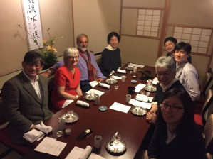 94ème Réunion annuelle de la société de physiologie du Japon : Prof. Haruhiko Bito (Univ. Tokyo), Constance Hammond, Yehezkel Ben-Ari, Sumii, Dr. Yukari Takahashi, Dr. Yukihiro Nakamura, Dr. Jiro Suzuki