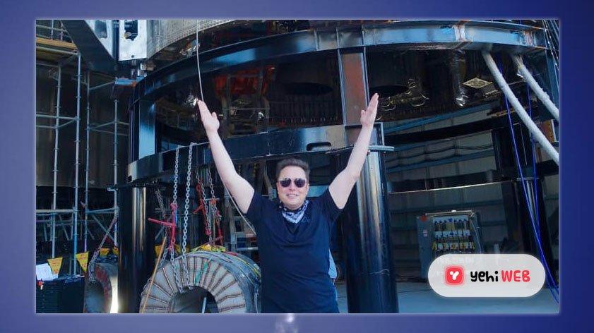 Elon Musk Raises Hands Yehiweb