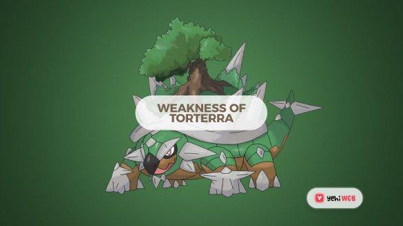 Weakness Of Torterra - Yehiweb