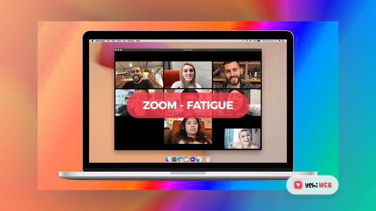 'Zoom fatigue' is real, and it's causing a new kind of anxiety, in the midst of coronavirus isolation,
