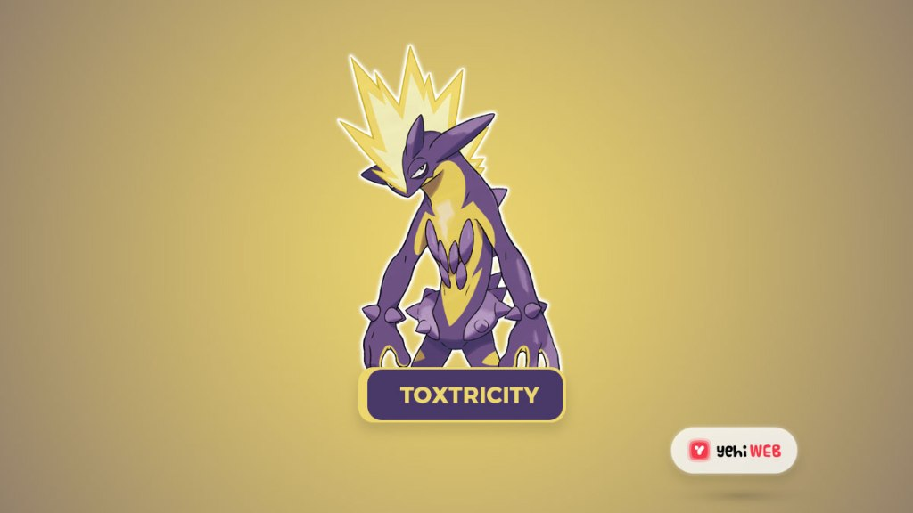 Toxtricity Most Powerful Dual-Type Pokémon of the 8th Generation, Ranked Yehiweb