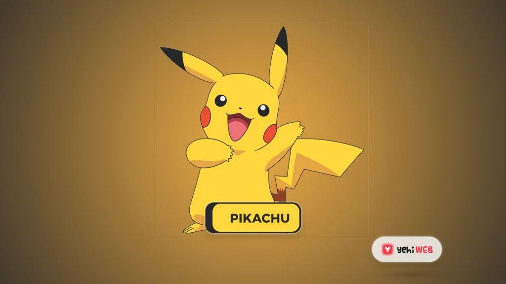 pikachu pokemon Yehiweb