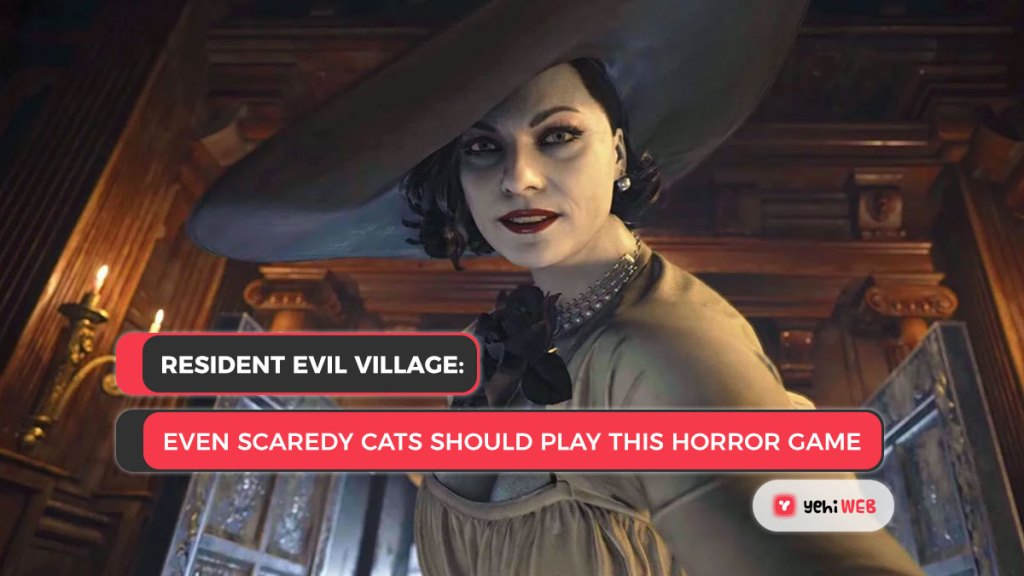 Resident Evil Village Lady Dimitrescu Yehiweb
