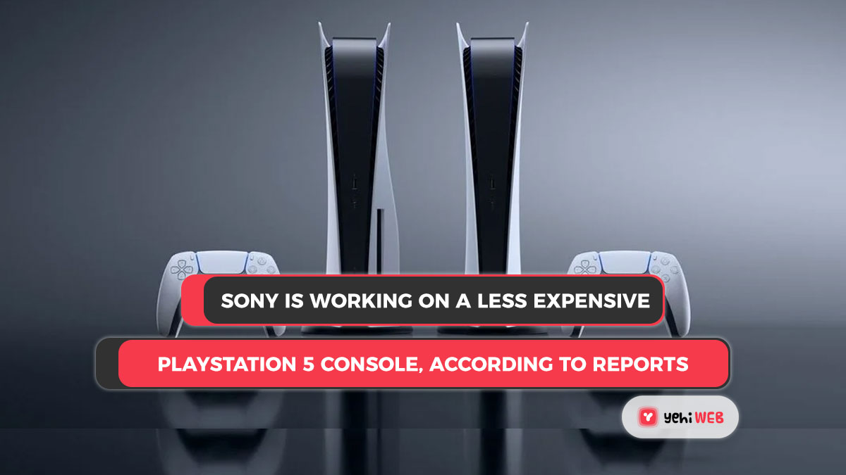 Sony is working on a less expensive PlayStation 5 console, according to reports.