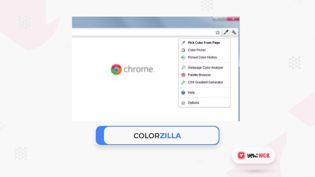 colorzilla google chrome extensions yehiweb