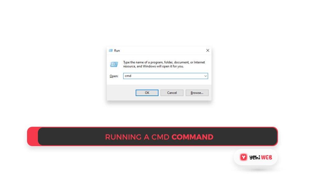 Running a CMD command Yehiweb