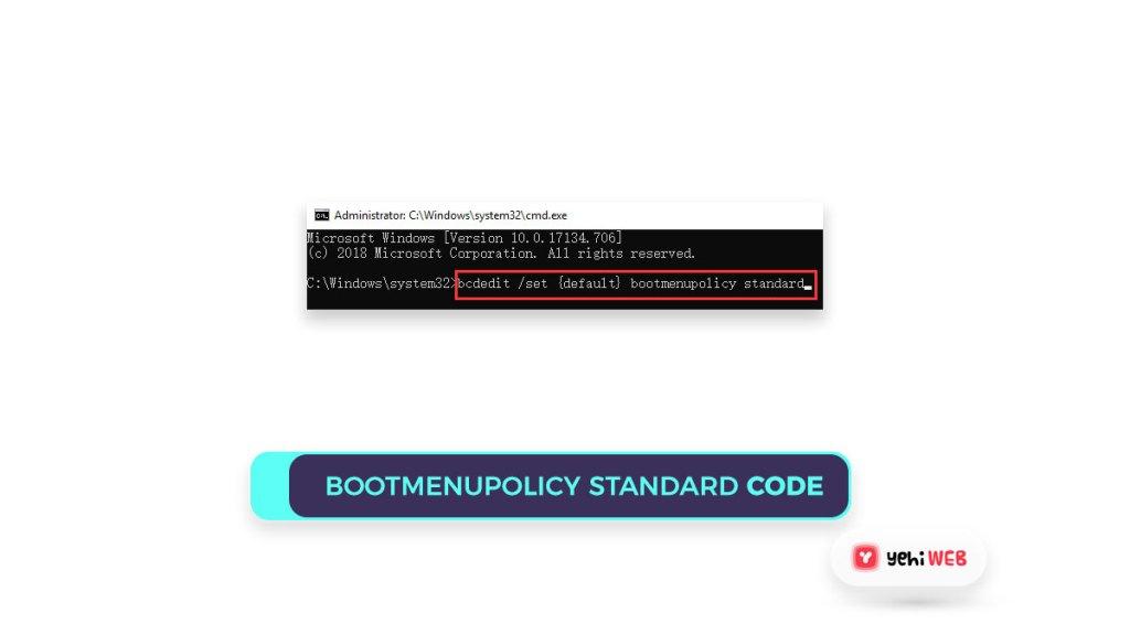 bootmenupolicy standard code Yehiweb