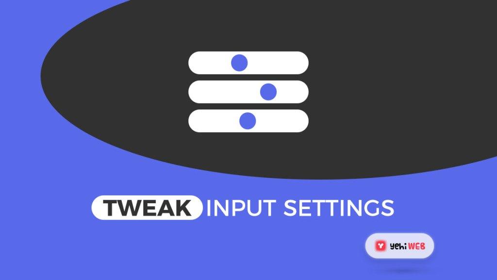 Solution 2 Tweak Automatic Input sensitivity settings Yehiweb