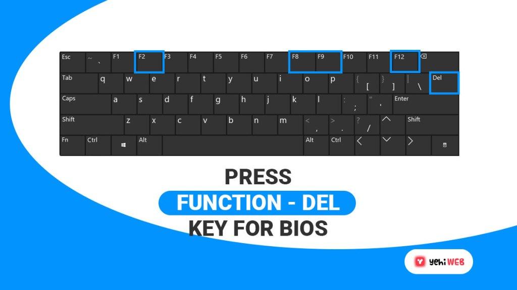 press function or del key for bios yehiweb