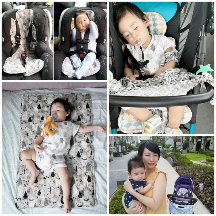 [親子] 炎夏必備!給小孩最舒適的涼感坐墊/床墊-【韓國Jellypop】 獨家微顆粒果凍涼珠 100%純棉酷涼墊