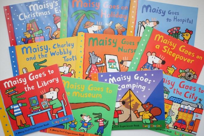[親子] Maisy's First Experiences Collection小老鼠波波10冊