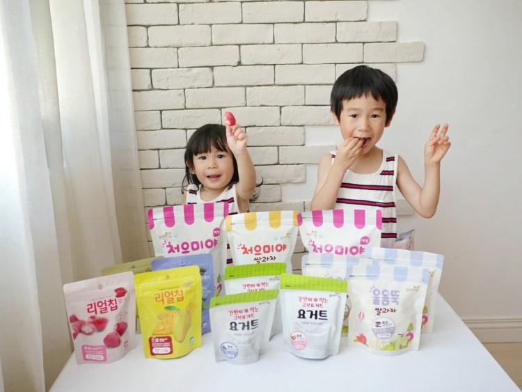 [親子] 無化學添加米餅、優格球、天然果乾-韓國Ssalgwaja米餅村